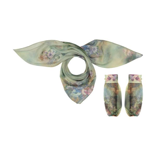 ست روسری و ساق دست زنانه گالری شمرون مدل SCA153V0