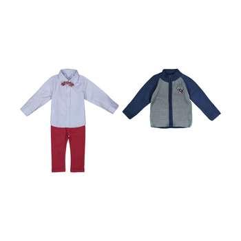 ست 3 تکه لباس پسرانه ببوش مدل 2141202-40