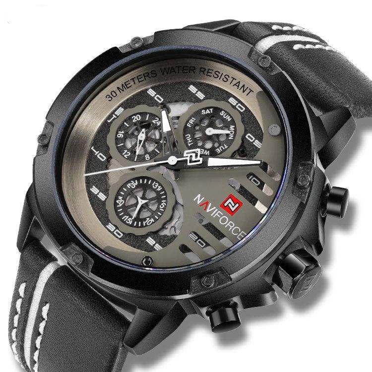 ساعت مچی عقربهای مردانه نیوی فورس مدل NF9110w