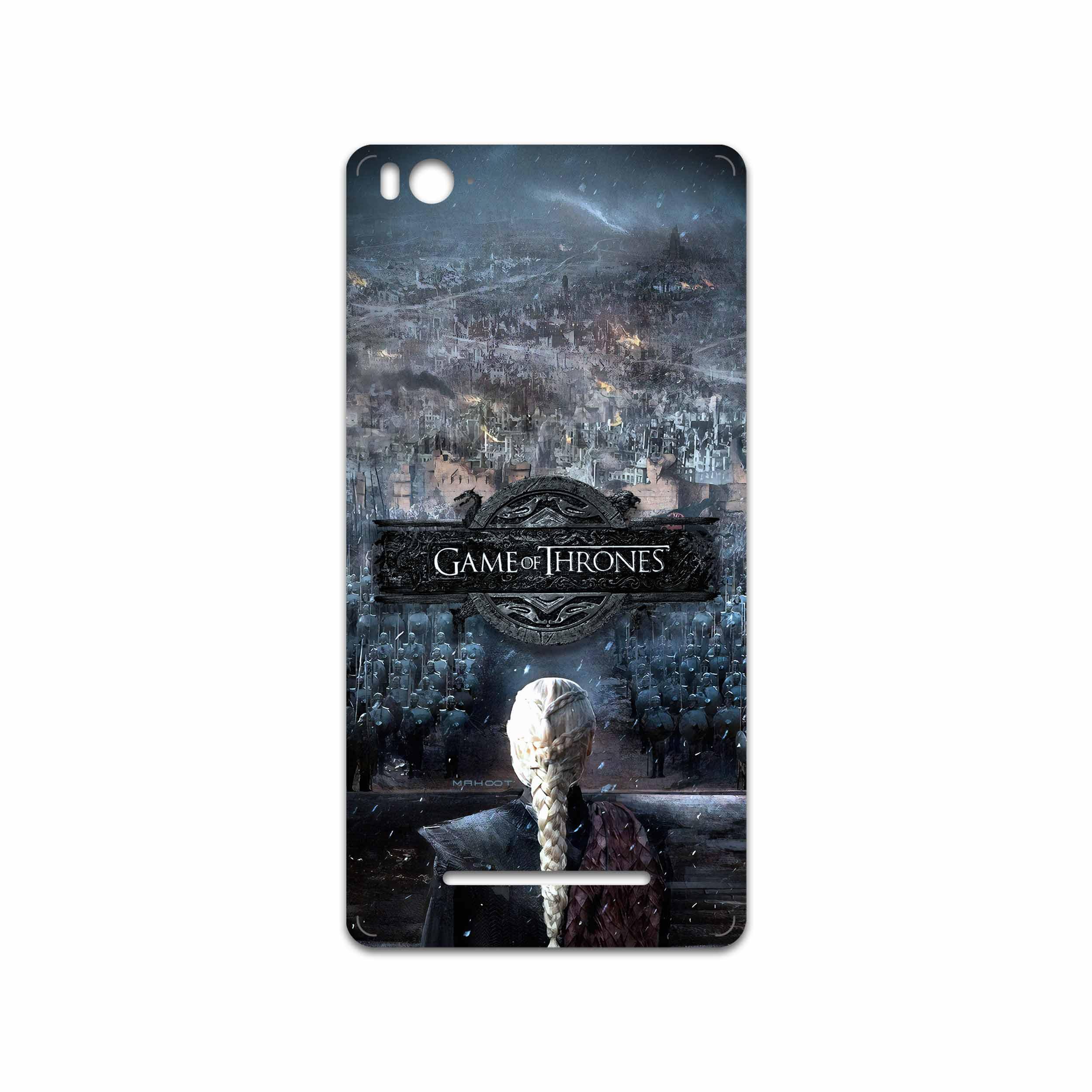 برچسب پوششی ماهوت مدل Game of Thrones مناسب برای گوشی موبایل شیائومی Mi 4i