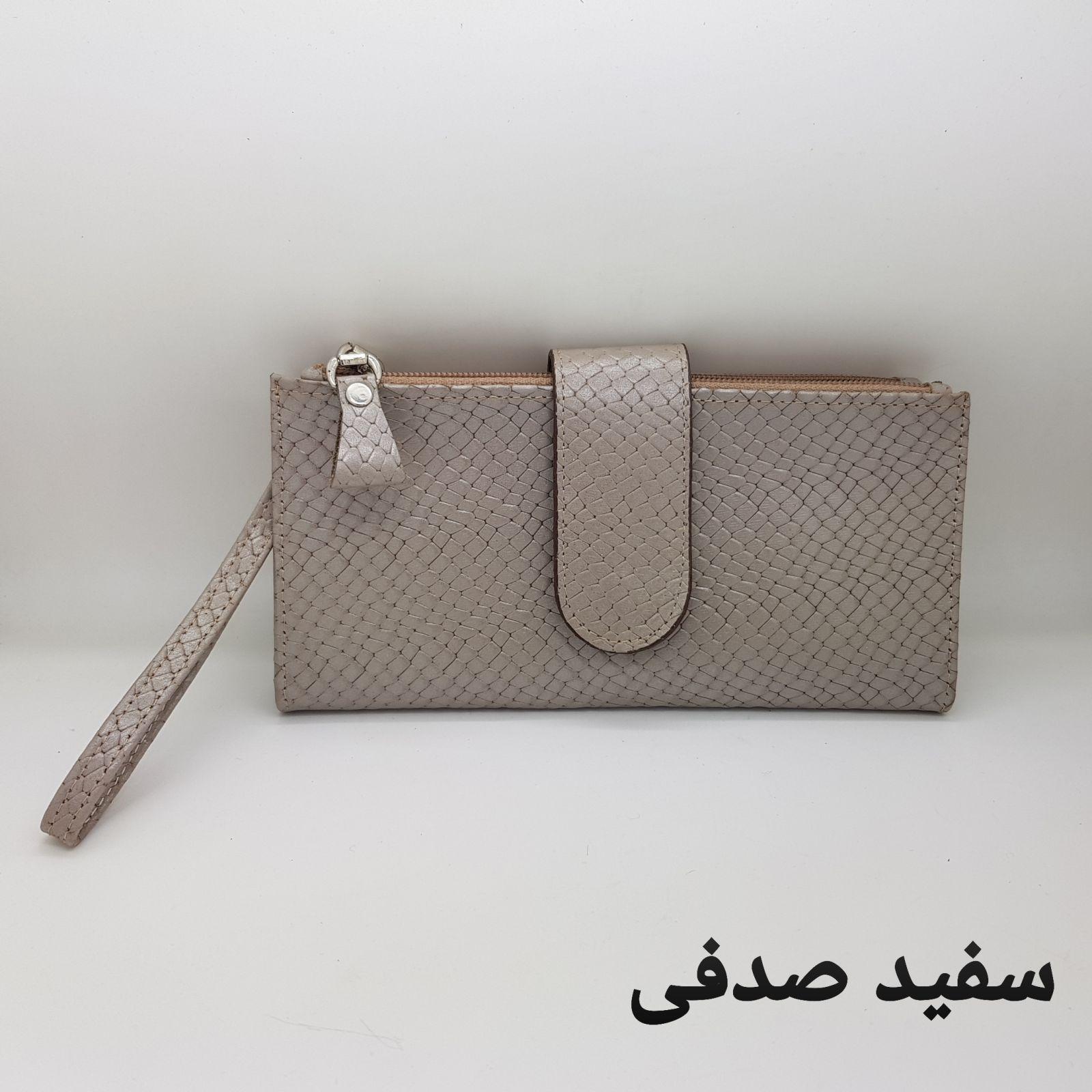 کیف پول زنانه چرم دیاکو کد327 -  - 9