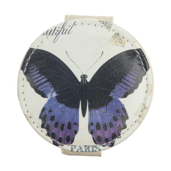 آینه جیبی طرح پروانه کد 90514