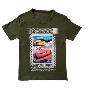تیشرت آستین کوتاه پسرانه طرح مک کویین کد 003