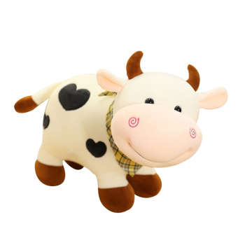 عروسک طرح گاو مدل Cute Cattle طول 28 سانتی متر