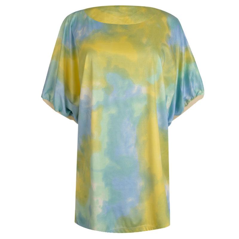 تی شرت آستین کوتاه زنانه مدل 358455025