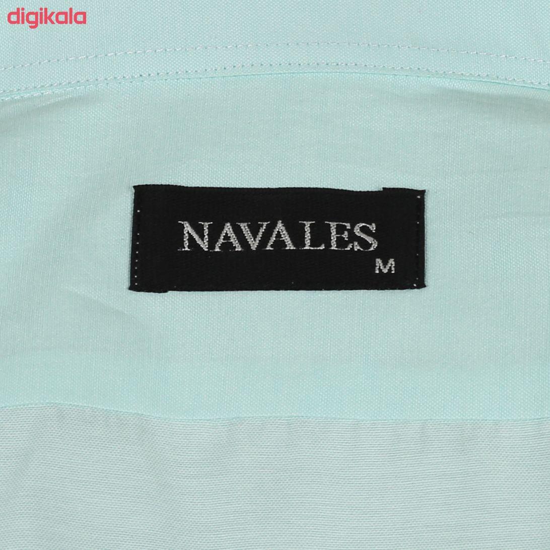 پیراهن آستین بلند مردانه ناوالس مدل NoX8020-GN main 1 4