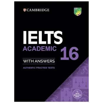 کتاب IELTS Cambridge 16 Academic اثر جمعی از نویسندگان نشر ابداع