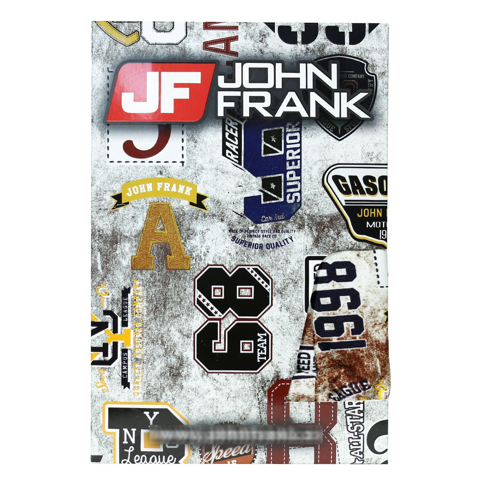 شورت مردانه جان فرانک کد BL-JB 104 -  - 5