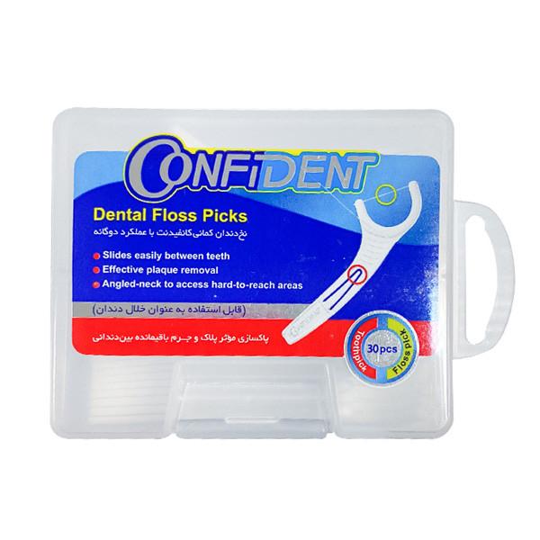 نخ دندان کانفیدنت کد 011 بسته 30 عددی