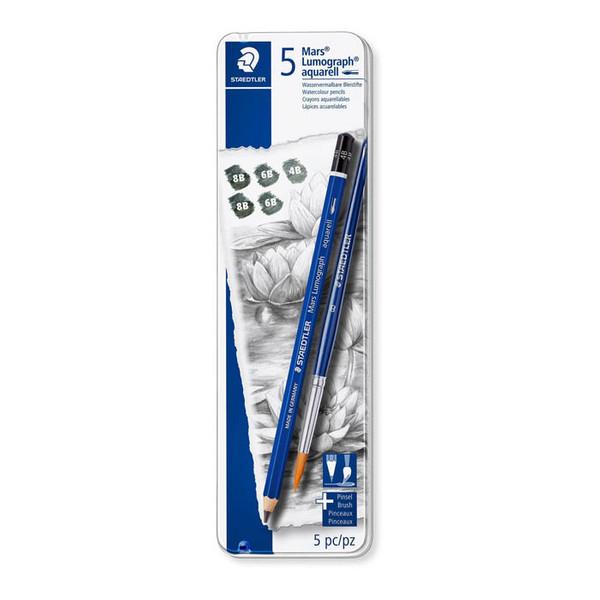 مداد طراحی استدلر مدل آکورال مجموعه 6 عددي