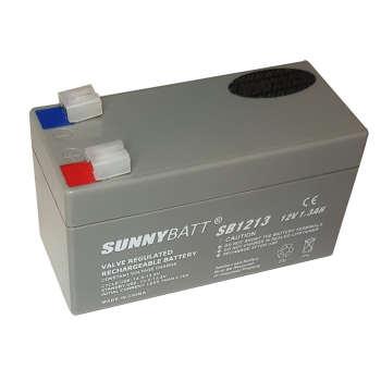 باتری یو پی اس 12 ولت 1.3 آمپر ساعت سانی بت مدل SB1213