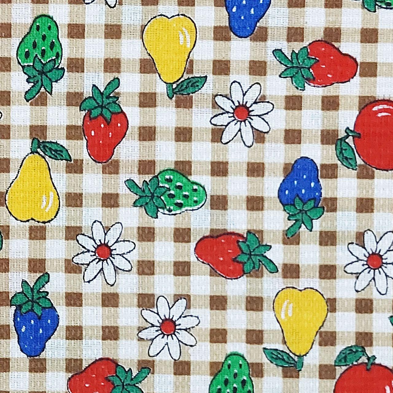پارچه آشپزخانه طرح میوه کد 4