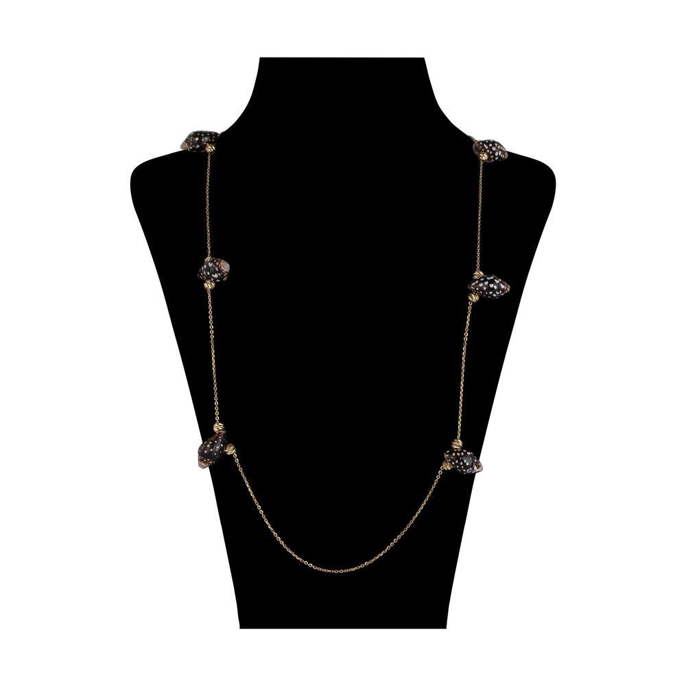 گردنبند طلا 18 عیار زنانه سیودو مدل 147638