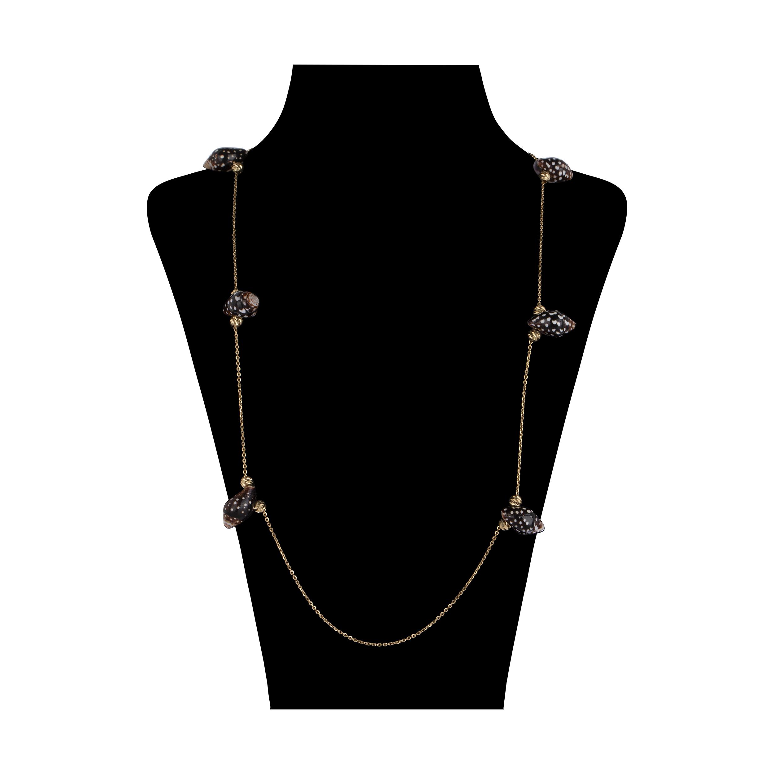 گردنبند طلا 18 عیار زنانه سیودو مدل 147638 -  - 2