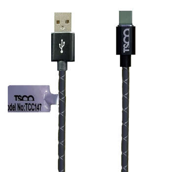کابل تبدیل USB به USB-C تسکو مدل TCC 147 طول 1 متر