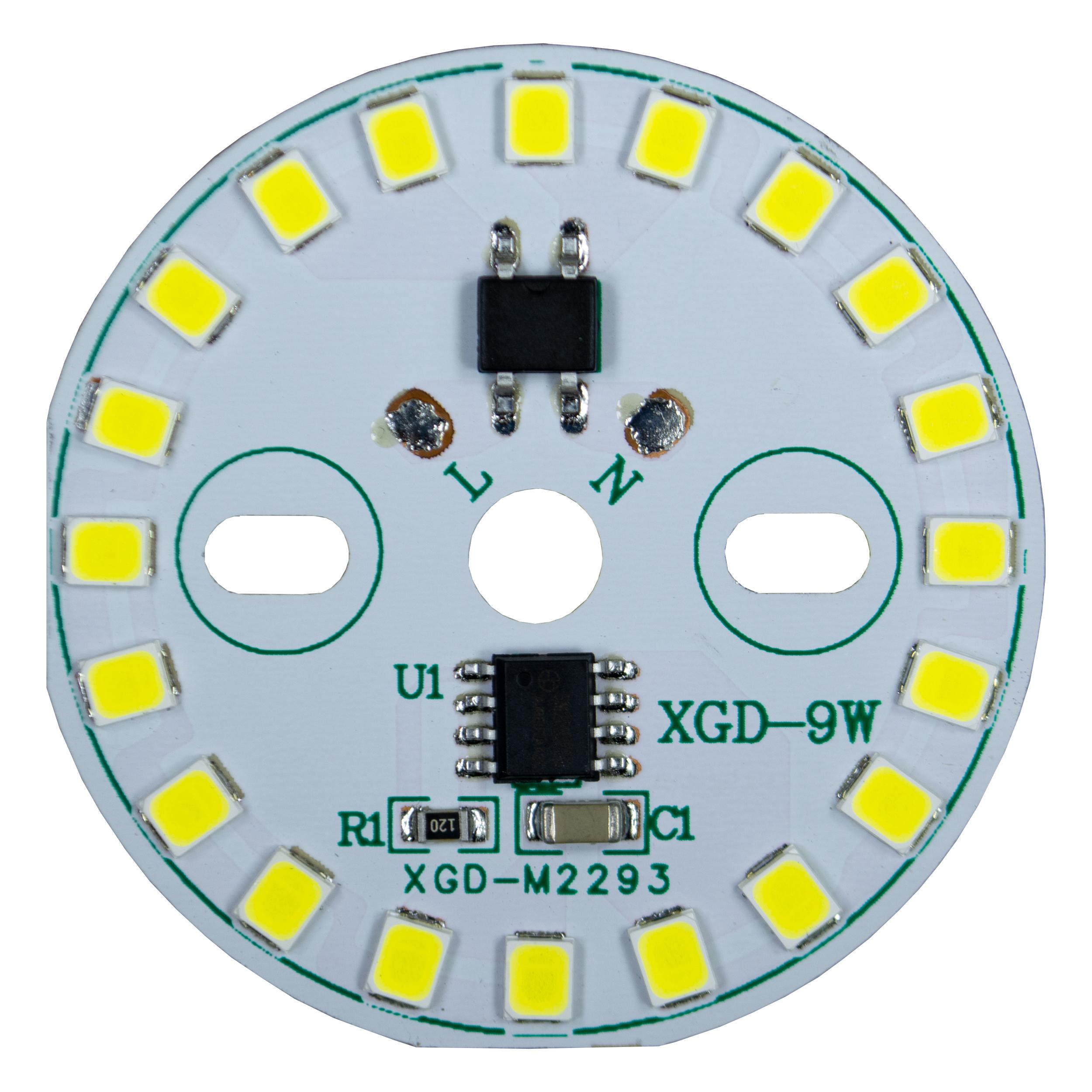 چیپ لامپ ال ای دی 9 وات مدل LM110-220V