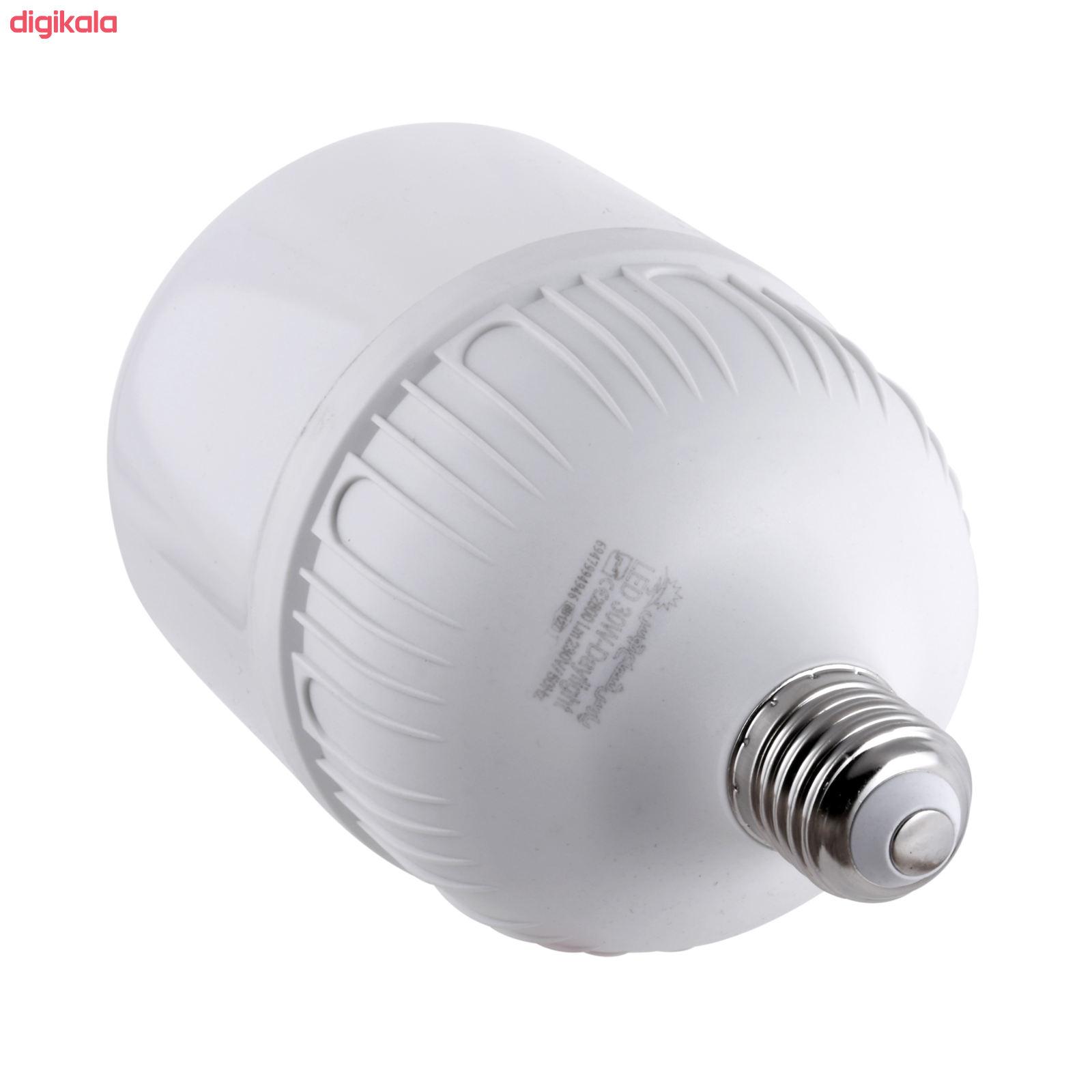 لامپ ال ای دی 30 وات پارس شعاع توس مدل CY30 پایه E27 main 1 1