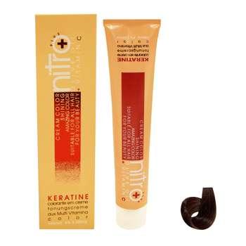 رنگ مو نیترو سری Keratine شماره 7.31 حجم 100 میلی لیتر رنگ بلوند بژ متوسط