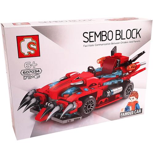 ساختنی سمبو بلاک مدل Famous car 607034