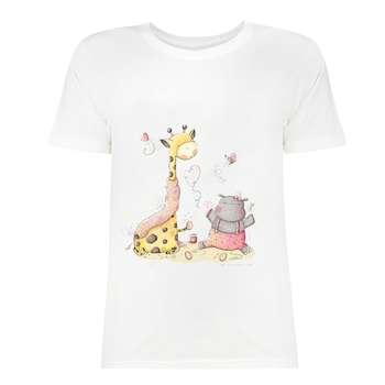 تی شرت زنانه کد SK0004-37
