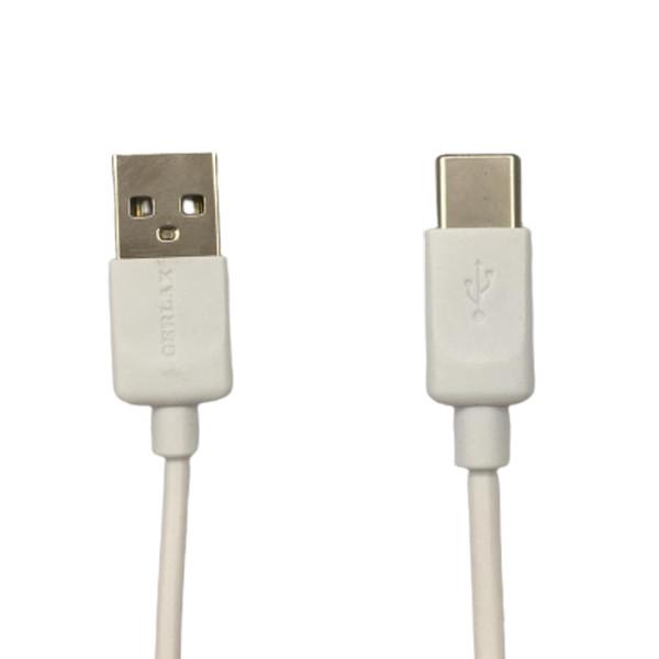 کابل تبدیل USB به USB-C جرلکس مدل GD-19 کد SHR 758 طول ۱ متر