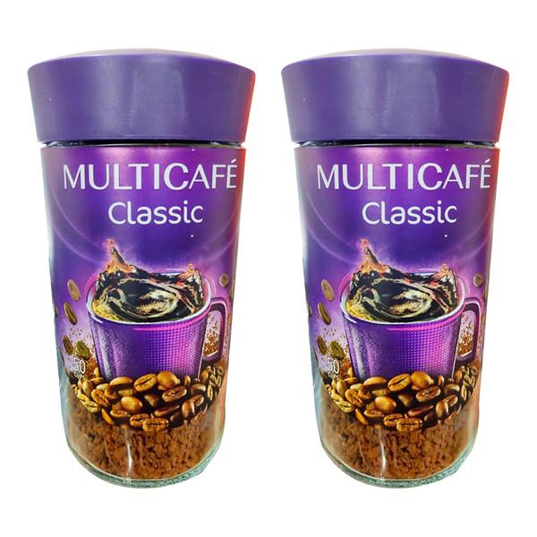 قهوه فوری کلاسیک مولتی کافه - 50 گرم بسته 2 عددی