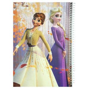 دفتر نقاشی ژوست طرح السا و آنا کد 44