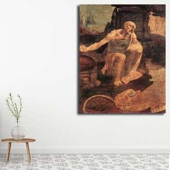 تابلو شاسی مدل نقاشی های داوینچی کد 11