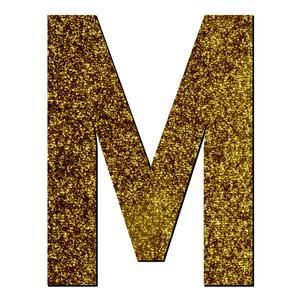 تابلو راهنما آژنگ طرح حروف دکوراتیو انگلیسی کد-M-LAMEH-TALA