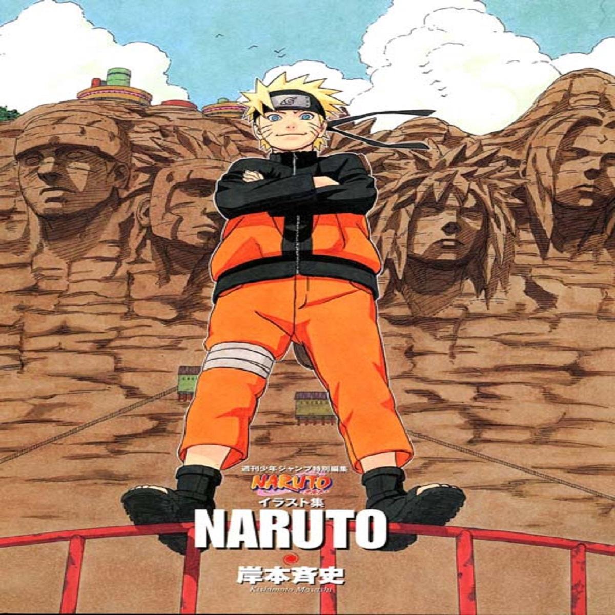 مجله Naruto Illustration Book اکتبر 2010
