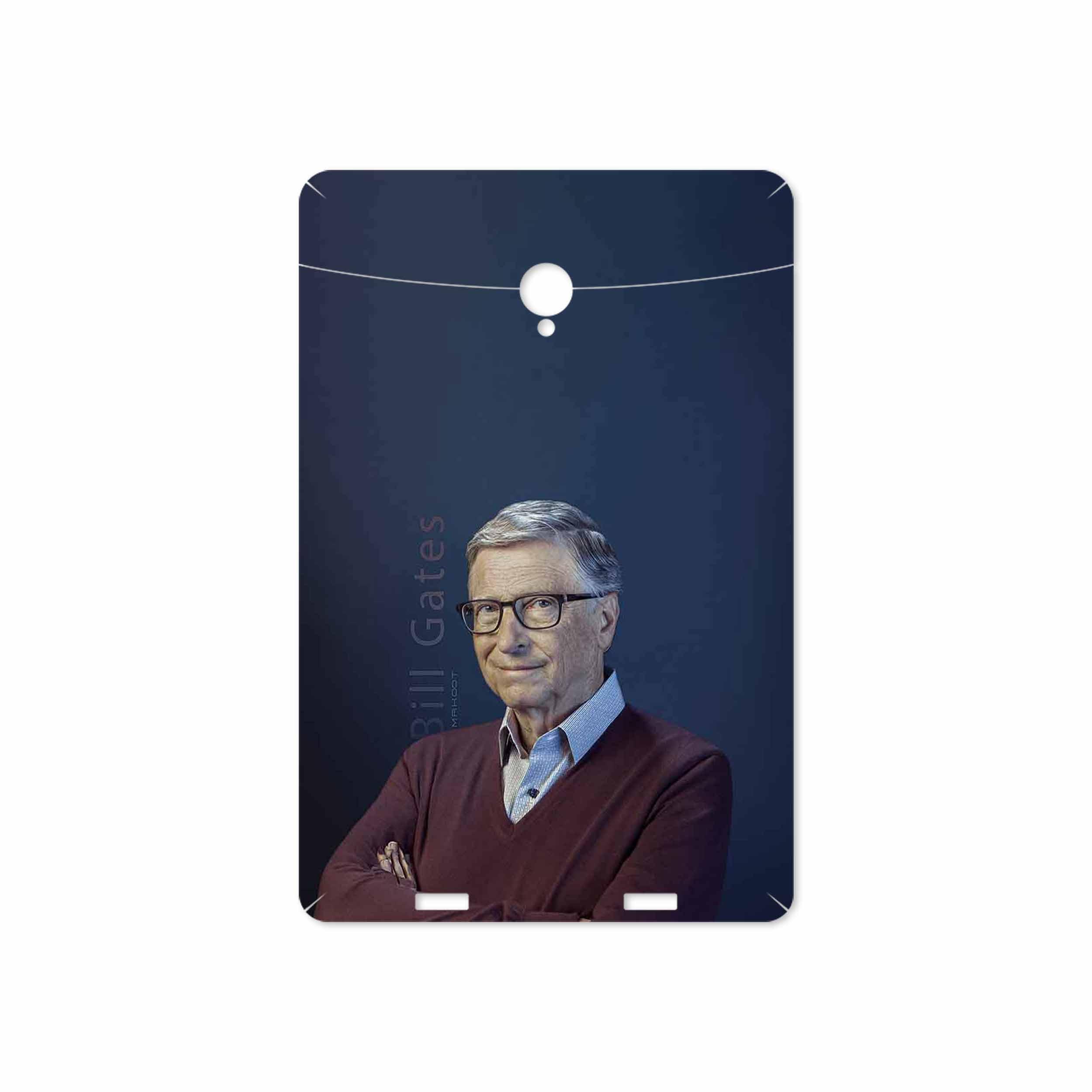 بررسی و خرید [با تخفیف]                                     برچسب پوششی ماهوت مدل Bill Gates مناسب برای تبلت وریکو Unipad                             اورجینال