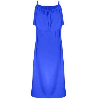 پیراهن بارداری مدل نشاطرنگ آبی