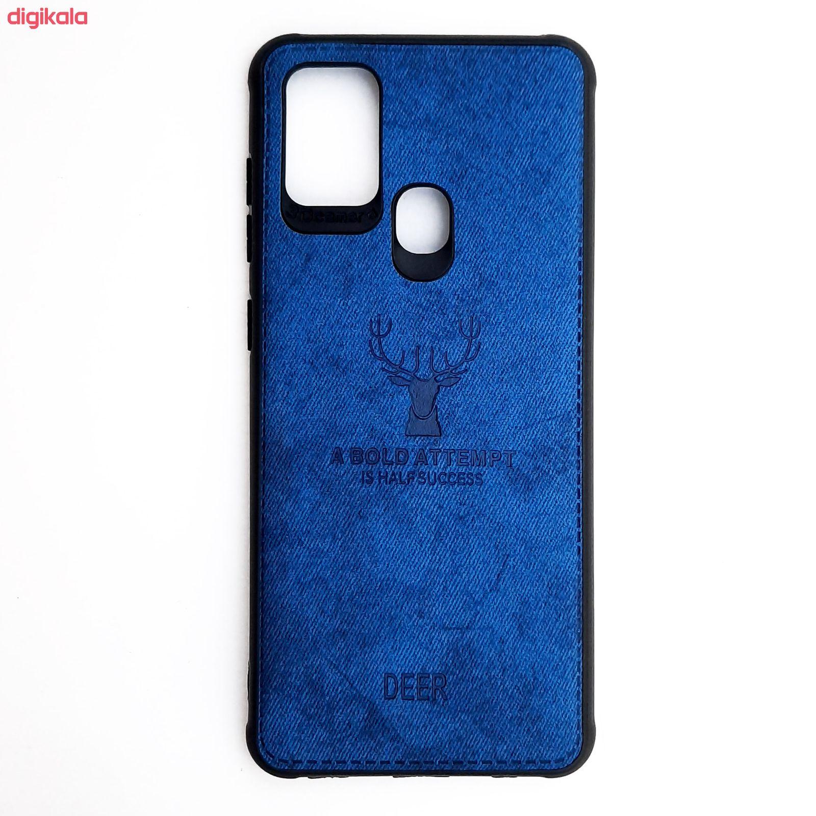 کاور مدل CO508 طرح گوزن مناسب برای گوشی موبایل سامسونگ Galaxy A21s main 1 4