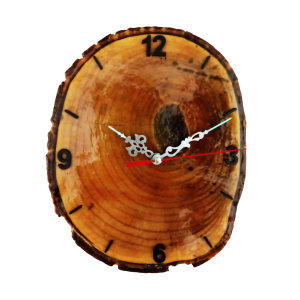 ساعت دیواری آذرنگ مدل طبیعت
