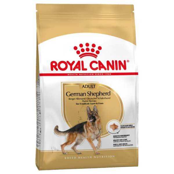 غذا خشک سگ رویال کنین مدل Adult German Shepherd کد 1060 وزن 11 کیلوگرم