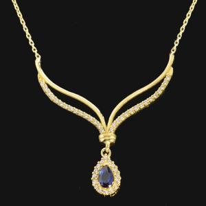 گردنبند طلا 18 عیار زنانه مدل 670144