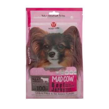 تشویقی سگ مدکاو مدل Beef_jerky وزن ۱۰۰ گرم
