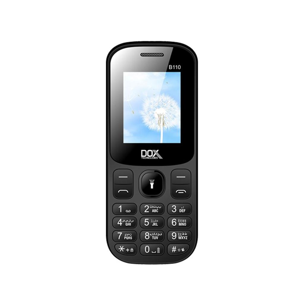 گوشی موبایل داکس مدل B110 دو سیم کارت ظرفیت 32 مگابایت و رم 32 مگابایت