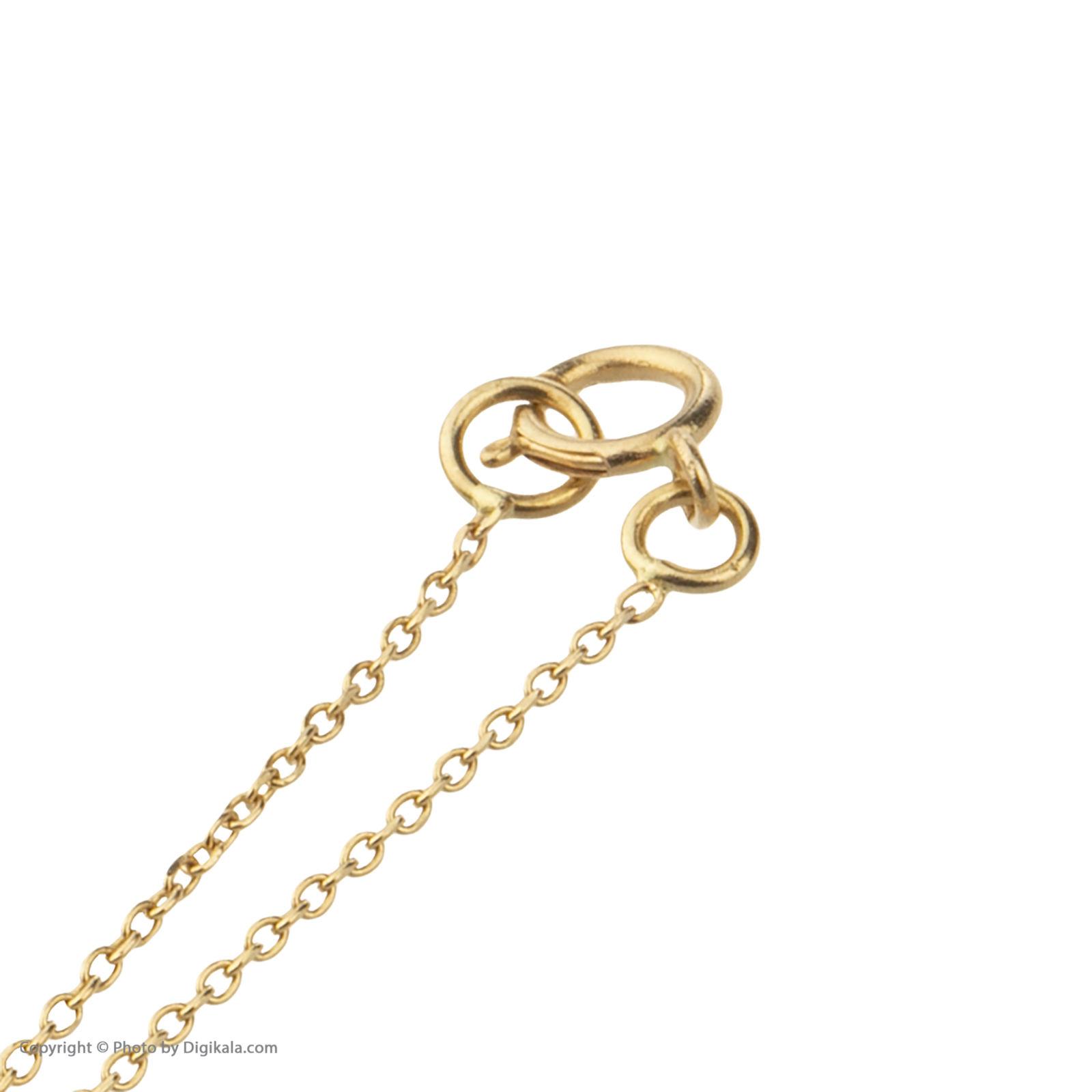 آویز ساعت طلا 18 عیار زنانه میو گلد مدل GD613 -  - 5