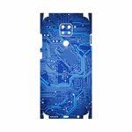 برچسب پوششی ماهوت مدل Blue Printed Circuit Board-FullSkin مناسب برای گوشی موبایل شیائومی Redmi Note 9