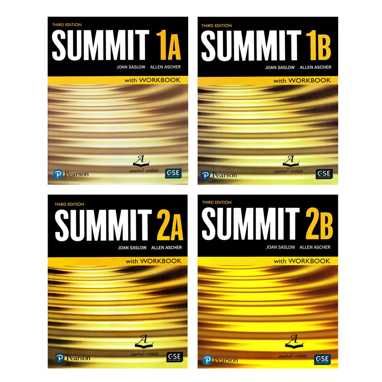 کتاب Summit اثر Joan Saslow And Allen Ascher انتشارات آرماندیس 4 جلدی