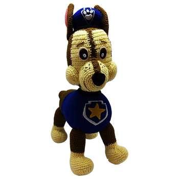 عروسک بافتنی طرح سگ نگهبان کد 1