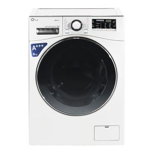 ماشین لباسشویی جی پلاس مدل GWM-L8645W ظرفیت 8 کیلوگرم
