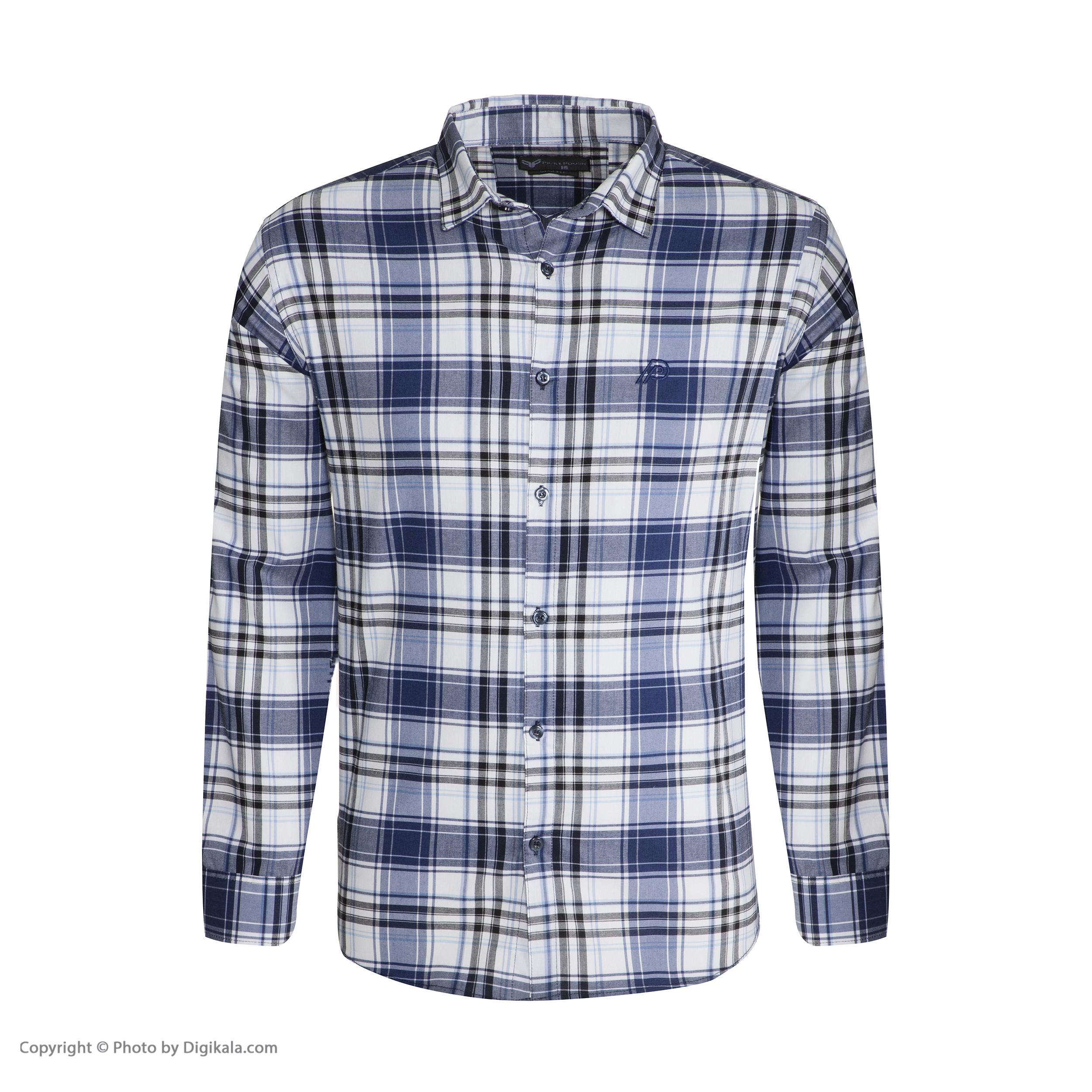 پیراهن مردانه پیکی پوش مدل M02420 main 1 3