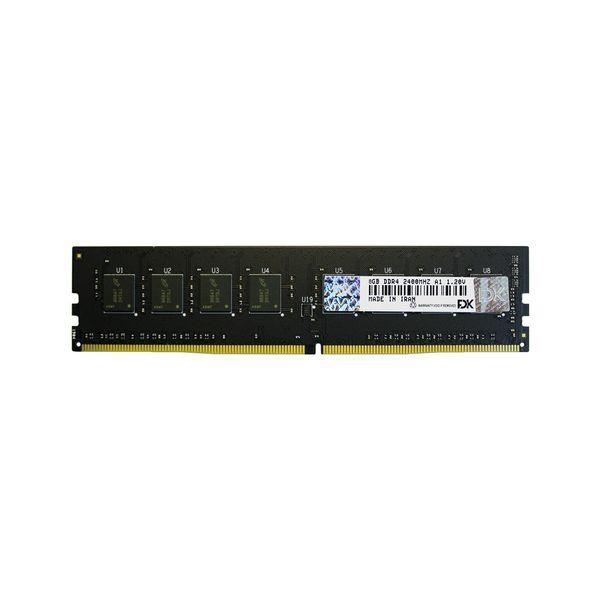 رم دسکتاپ DDR4 تک کاناله 2400 مگاهرتز CL17 فدک مدل A1 ظرفیت 8 گیگابایت