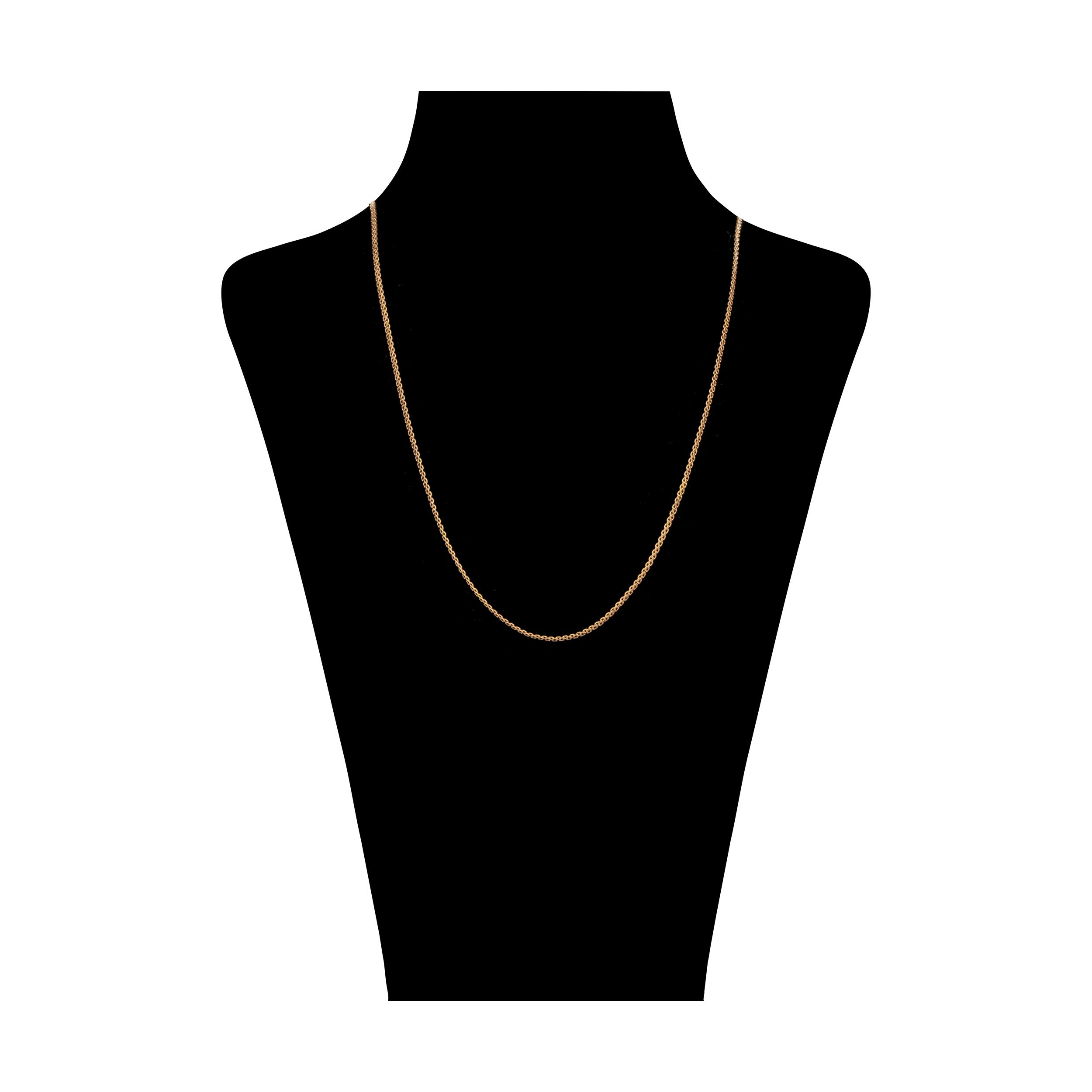 زنجیر طلا 18 عیار زنانه آلند کد TZ134