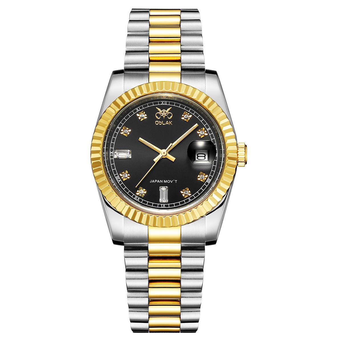 قیمت                      ساعت مچی عقربه ای مردانه اوبلاک مدل 72691