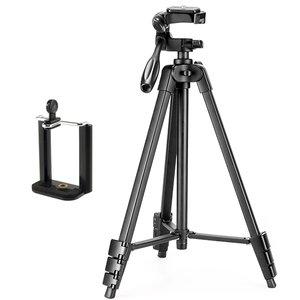 سه پایه دوربین نست مدل NT-510 به همراه گیره نگهدارنده موبایل