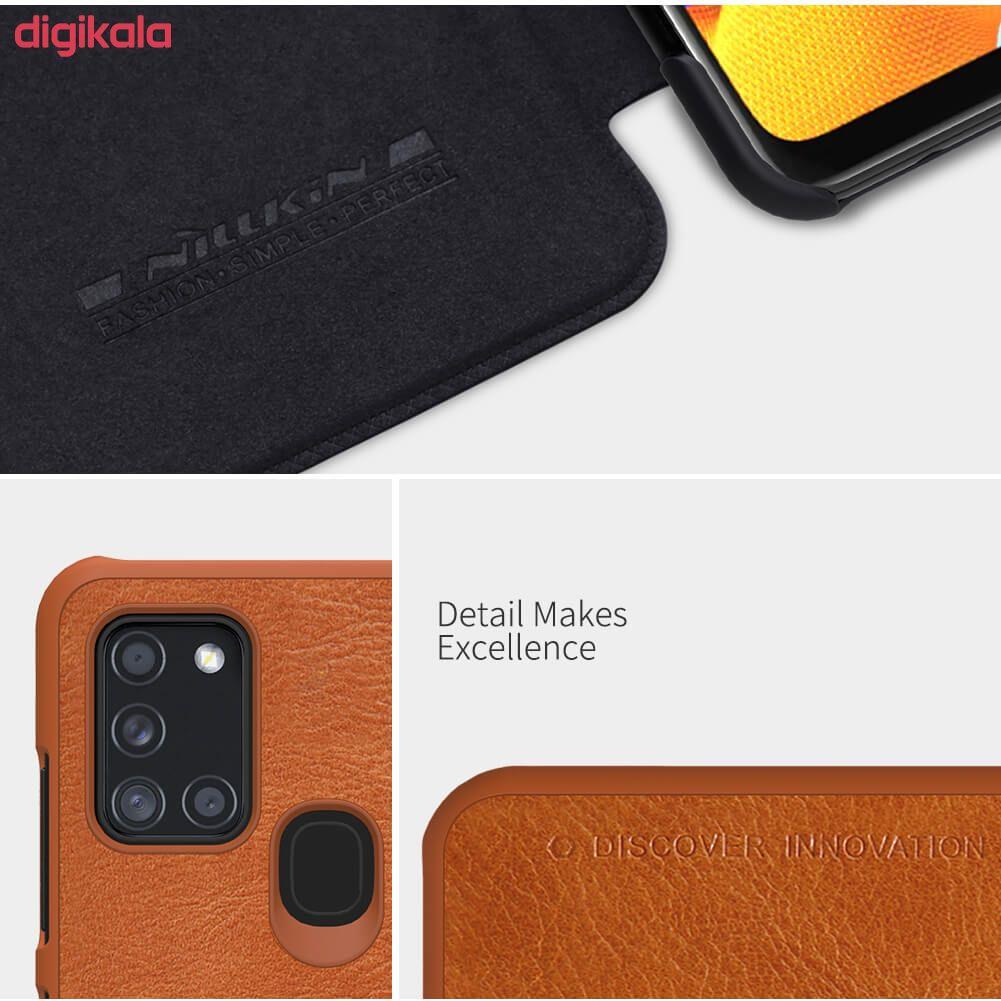 کیف کلاسوری نیلکین مدل QIN مناسب برای گوشی موبایل سامسونگ Galaxy A21s main 1 15