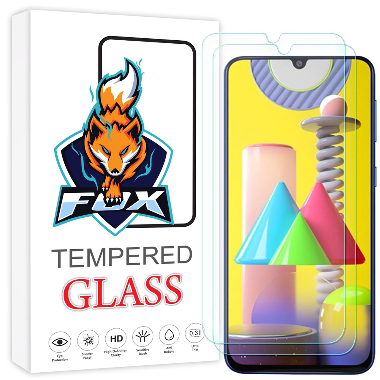 محافظ صفحه نمایش فوکس مدل PR001 مناسب برای گوشی موبایل سامسونگ Galaxy M31 بسته دو عددی
